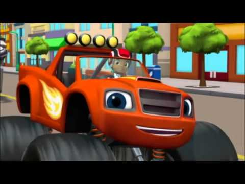 Blaze et les Monster Machines | Le robot | NICKELODEON JUNIOR