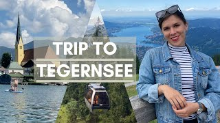 Trip from Munich to TEGERNSEE + Mountains ⛰ | Travel Germany