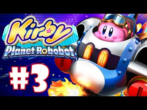 KIRBY PLANET ROBOBOT #03 - PEGUE O POMBO