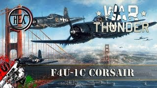 war thunder gameplay ita f4u 1c corsair i pirati dei caraibi