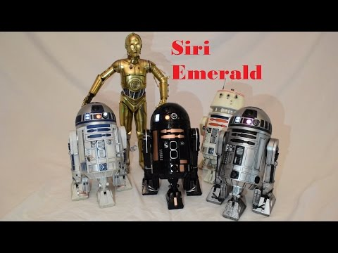 Star Wars Sideshow R2-D2 Prototype R2-Q5 R5-D4 C-3PO 1/6 Scale Movie Collectible Review Unboxing