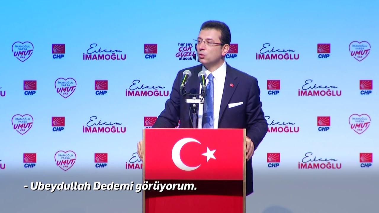 Bu umut İstanbul'a güzelliği, iyiliği ve adaleti getirecek