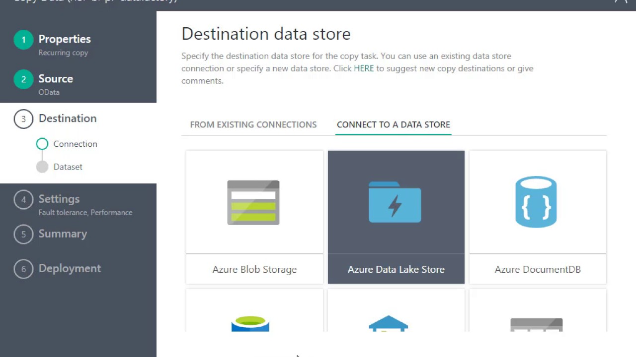 Azure Data Factory and Dynamics CRM Online