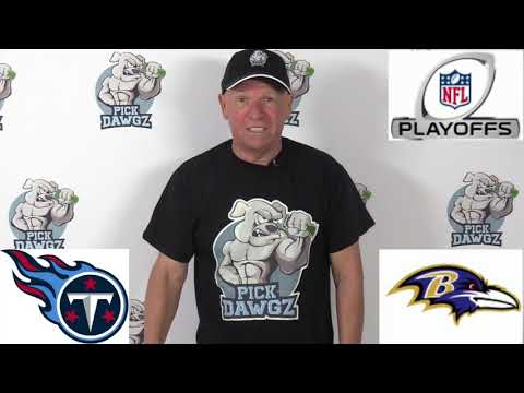Baltimore Ravens vs Tennessee Titans NFL Pick and Prediction 1/11/20 AFC Playoff Betting Tips