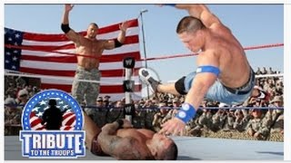 John Cena, Batista; Rey Mysterio vs. Randy Orton Jeri-Show: Tribute to the Troops, Dec. 20, 2008