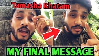 Raftaar Final Message And Reply To Emiway | Raftaar Reaction On Emiway Bantai - Khatam | Drama Over?
