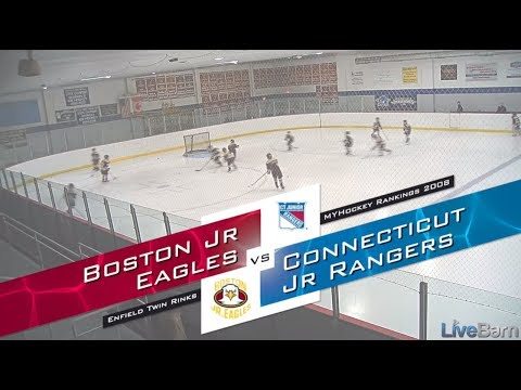 MyHockey Rankings Game Of The Week, 11.25.18 2008 Connecticut Jr Rangers Vs Boston Jr Eagles