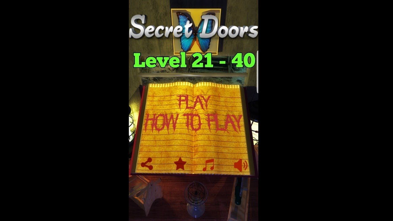 100 Floors Can You Escape 100 Doors Level 21 40 Walkthrough Mystery Of 100 Doors Secret Doors Youtube