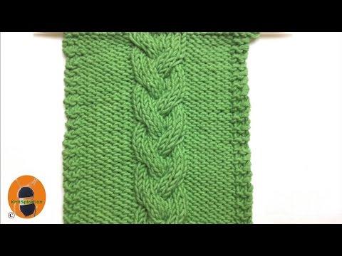 Stricken Wir! Muster 7 - Das Geflochtene Zopfmuster