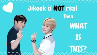 Jikook is NOT real... Then what is THIS?