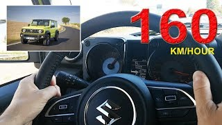 Τέρμα γκάζι (160χλμ./ώρα) με το νέο Suzuki Jimny