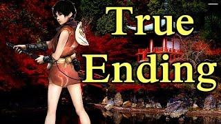 Tenchu: Fatal Shadows Walkthrough - PS2 - Chapter 12- 2 - TRUE ENDING -  Ayame Cutscene!