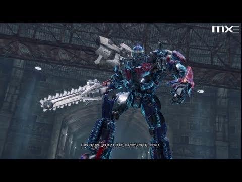 Transformers Dark of the Moon - Megatron vs Optimus Prime
