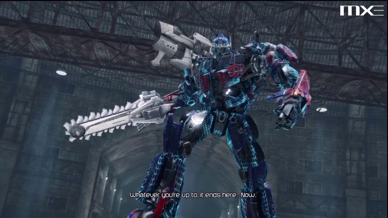 Transformers Dark of the Moon  Megatron vs Optimus Prime  YouTube