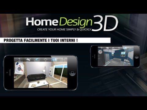 Home design 3d arreda e costruisci la tua casa su iphone e for Virtuale costruisci la tua casa