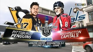 2017 Stanley Cup Playoffs, Round 2: Penguins @ Capitals (Game 1, 4/27/2017)