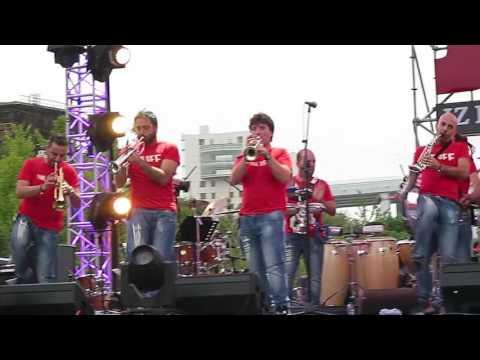 【Strawberry Alice】12th JZ Festival Shanghai: Funk Off (Italia), Shanghai Expo Park, 15/10/2016.