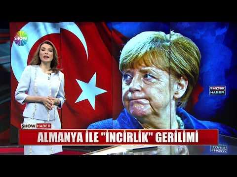 """Almanya ile """"İncirlik"""" gerilimi"""