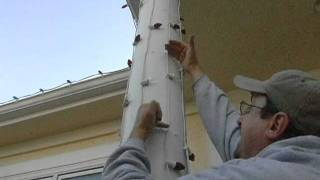 Holiday Lighting Instruction - C7 Candy Cane Wraps - Pt 3 Of 3.mpg