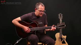 Taylor 352ce and 362ce Demo from Peghead Nation