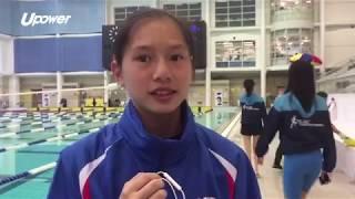 upower 【學界D3游水】跳水少女首度回歸泳池作賽 黎展