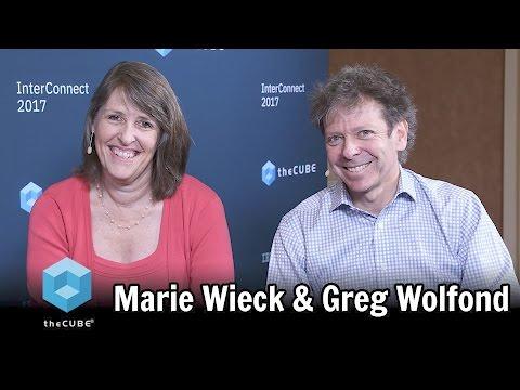 Marie Wieck & Greg Wolfond   IBM Interconnect 2017