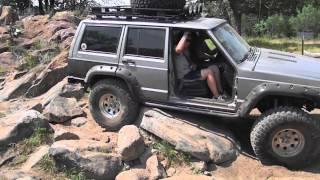 Jeeps at Katemcy Rocks, Rock Crawling Texas Style #1