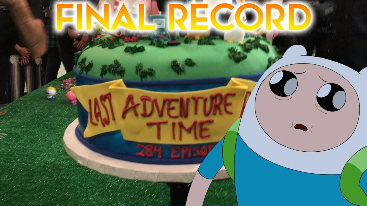 adventure time s final episode has been recorded youtube