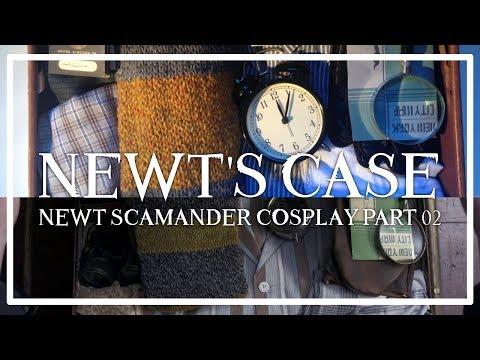 NEWT'S CASE | NEWT SCAMANDER COSPLAY PART 02