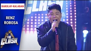 "Renz Robosa goes out of his comfort zone with ""Mangarap Ka"" 