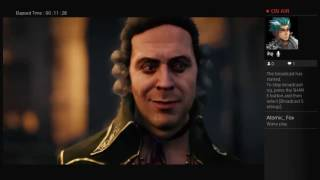 Gameplay on Assassins Creed Unity (PS4)