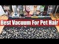 Best Vacuum For Pet Hair & Allergies TESTS   Dyson Vs Shark Vs Bissell Vs Sebo