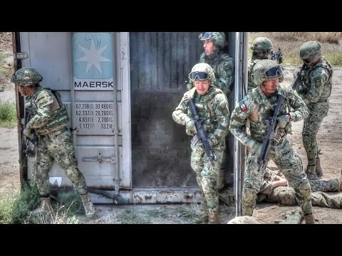 Mechanized Assault – U.S. Marines And Mexican Military