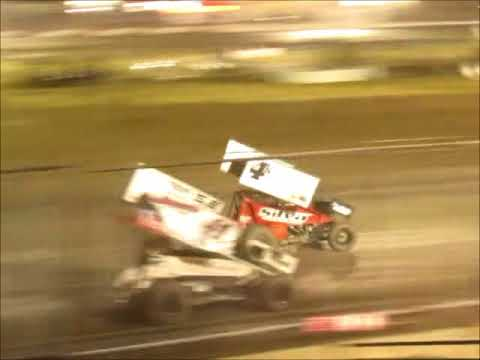 Sprintcar Fall Nationals @ Silver Dollar Speedway  9 29 17 part 2
