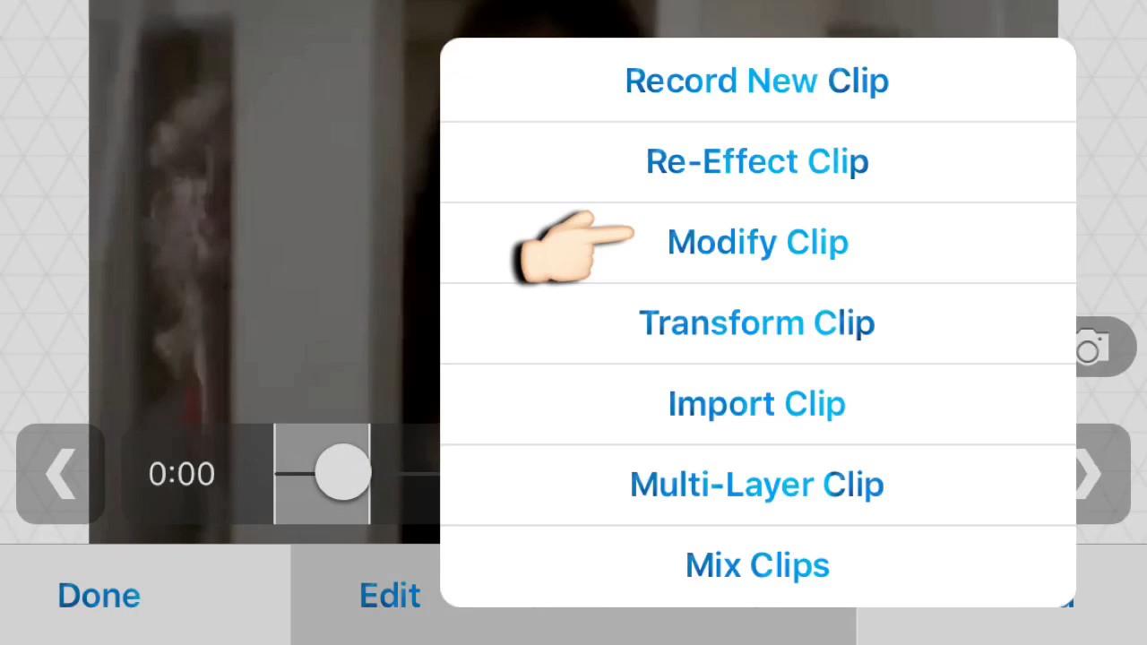 velocity edit on video star