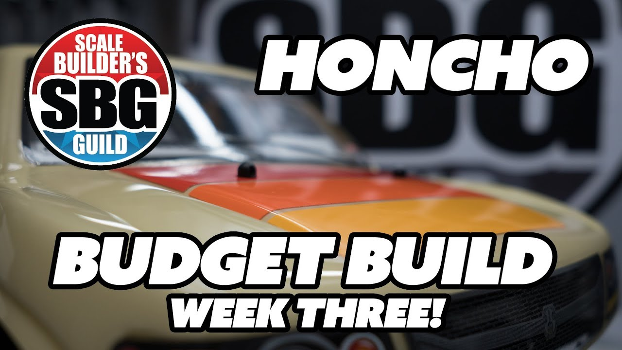 SCX10 2 Honcho $50 Budget Build Week 3 - Sliders, Stickers