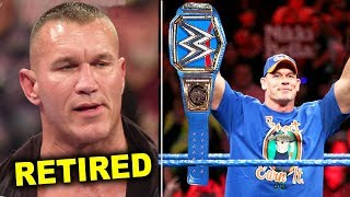 10 Secret Plans for WWE WrestleMania 36 - Randy Orton Retires & John Cena Wins Universal Title