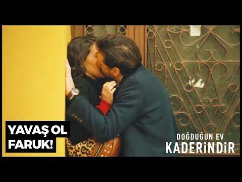 Faruk'tan Emine'ye Aşk Öpücüğü | Doğduğun Ev Kaderindir 7. Bölüm