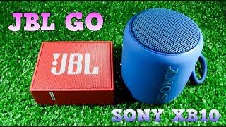 JBL GO vs Sony XB10 - Który głośnik jest lepszy?