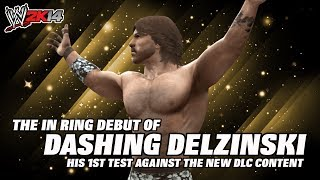 wwe 2k14 community creation dashing delzinski vs fandango