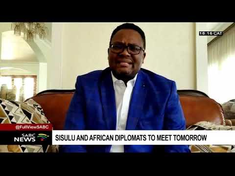 African ambassadors to meet DIRCO minister Sisulu over xenophobic aatacks