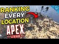 Ranking and Explaining Every Map Location and Loot Zone In Apex Legends! Mp3