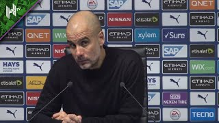 IN BOTH GAMES WE WERE BETTER | Pep Guardiola | Man City 0-1 Man Utd