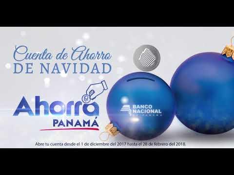 CUENTA DE AHORRO DE NAVIDAD DEL BANCO NACIONAL DE PANAMÁ