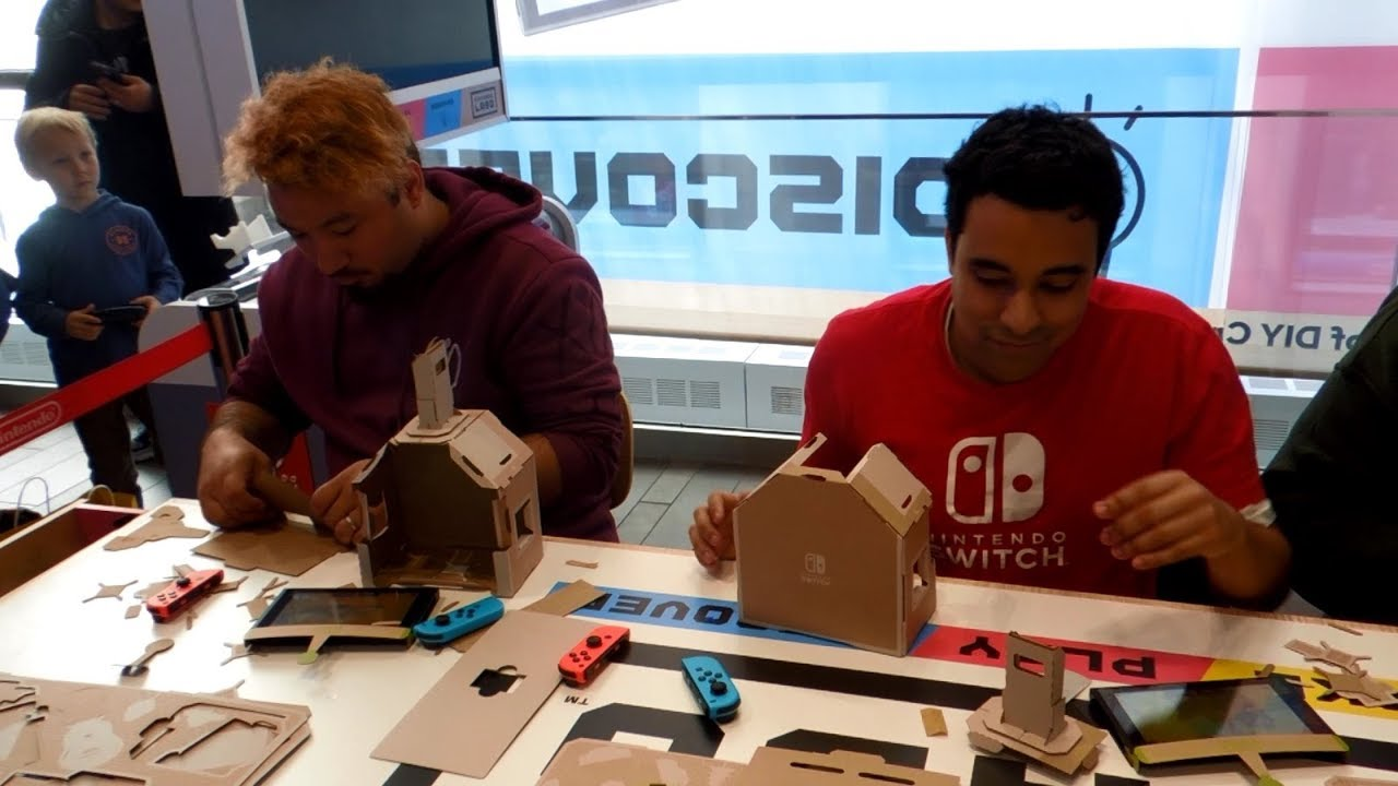Nintendo Labo Workshop Launch Event at Nintendo NY