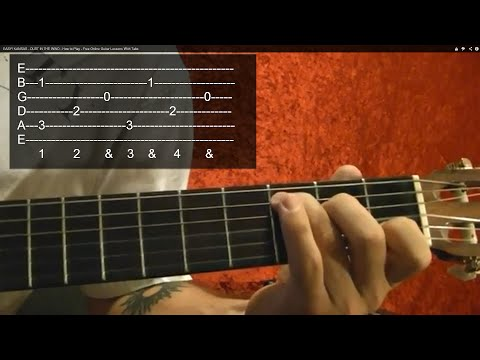 EASY!! BEATLES - And I Love Her - Solo - Guitar Lesson