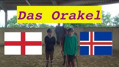 England gegen Island // Orakel mit Hvönn