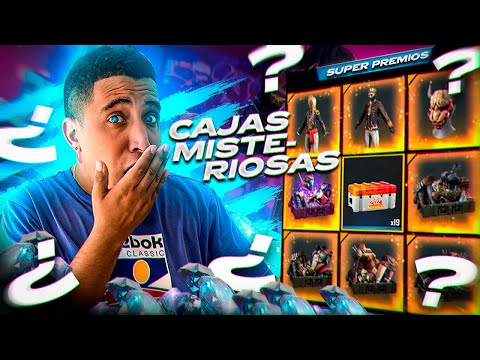 ABRIENDO CAJAS super EXCLUSIVAS y ANTIGUAS con posibilidades de PREMIOS ÉPICOS!!! 🔥 FREE FIRE - MrStiven Tc