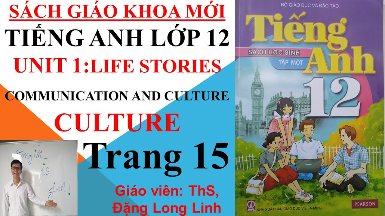 Tiếng Anh lớp 12 (SGK mới) – Unit 1: Life stories – Communication and culture – Culture – Trang 15