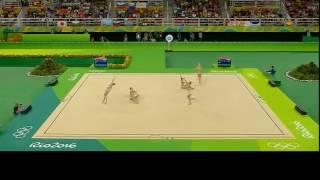 Художественная гимнастика Рио 2016 групповые